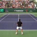 フェデラーのストローク練習 Roger Federer Stroke Practice