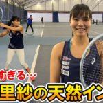 【テニス/TENNIS】尾﨑里紗の上手すぎかつ感覚派すぎて全然頭に入ってこないインプレ