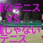 """TENNIS JAPAN 綺麗なテニスする「いかにも爽やか""""風""""なIKM君」とシングルス練習試合!2020年7月中旬"""
