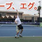 【テニス】堅すぎ。。世界のトッププロのサーブからのポイントがエグすぎる【選手視点】court level