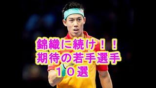 【錦織に続け!】期待の若手テニスプレーヤー10人【男子日本人テニス】