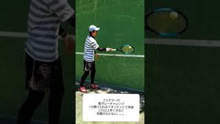 #1 フェデラーの壁ボレーチャレンジに挑戦  Challenge Federer's recommended solo training volley