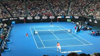 2019年全豪オープンテニス ロジャーフェデラースーパープレー