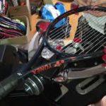 ガット張り(22本目) 硬式テニス 2本張り stringing tennis