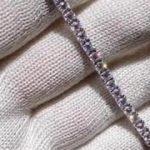 5ct モアサナイト テニスブレスレット, 5ct Moissanite Tennis Bracelet