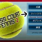 【CROSS COURT TENNIS 2】【クロスコートテニス2】バグ技紹介(天元突破サーブ)