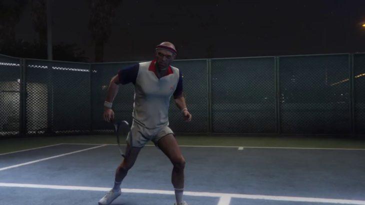 Grand Theft Auto V Tennis Lv.Hard 「Vespucci Courts」・グラセフ5 テニスハード  ベスプッチのコート1