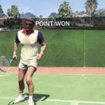 Grand Theft Auto V Tennis Lv.Hard 「Richman Hotel」・グラセフ5 テニスハード リッチマンホテル
