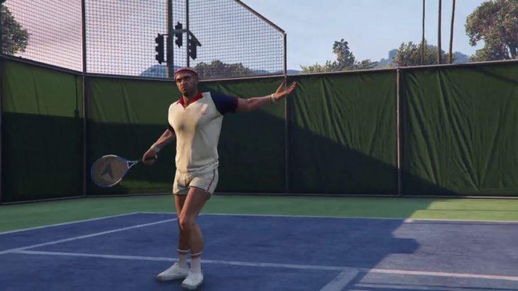 Grand Theft Auto V Tennis Lv.Hard 「Weezel courts」・グラセフ5 テニスハード ウィーザルコート