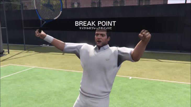 Grand Theft AutoV Tennis Lv.Hard 「ULSA Courts」・ グラセフ5 テニスハード ULSAコート