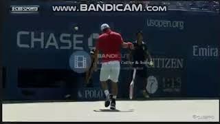 ラケットキャッチ錦織圭・Racket catch Kei Nishikori