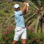 Rafa Nadal goes to golf and is fourth in the Balearic Championship in Mallorca