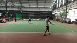 【テニス/TENNIS】若手プロvsトップ大学生ダブルス対決!2020 インカレインドア 男子ダブルス決勝