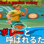 Tennis Clashテニスクラッシュ初心者天才ボレーと呼ばれるために