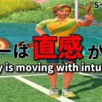 Tennis Clashテニスクラッシュボレーのコツは直感が大切