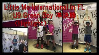 【テニス/Tennis】U9リトルモーインターナショナルFL準決勝/Little Mo International in FL semifinal -Highlight-