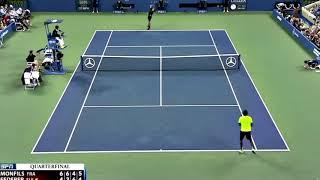 【テニス】フェデラー神業、スーパープレイ、コートレベル、court level集【フェデラー】