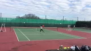 【tennis】テニス 大会 サーブ&ボレー