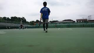 【tennis practice】 テニス 友人と練習