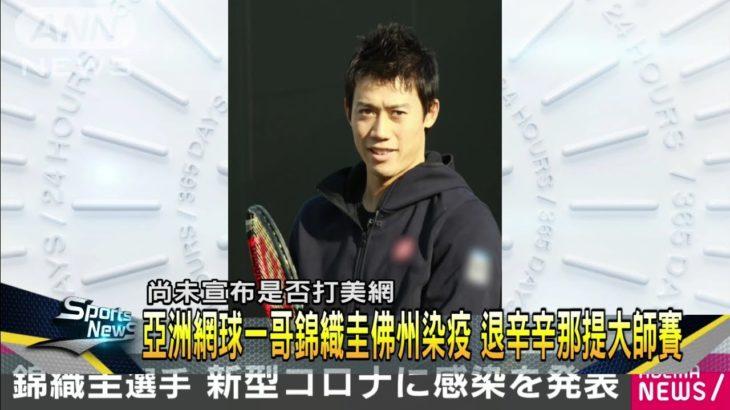 亞洲一哥錦織圭確診 謝淑薇宣布美網退賽-民視新聞