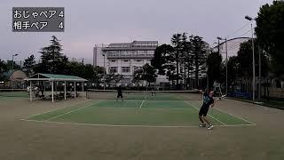 【テニス】リターンが良すぎて激競り練習試合1セットマッチ