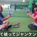 テニスのオープンスキル練習