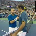 【テニス】ロジャー・フェデラー vs アンドレ・アガシ|全米オープン2005 決勝【世代交代】