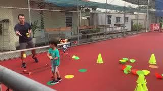 キッズテニス練習動画 #12