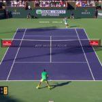 Kyrgios (キリオス)  VS Djokovic (ジョコビッチ) Indian Wells
