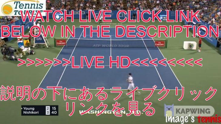@[LIVE]@!~錦織圭 vs ステファノ・トラバグリア 生放送 生中継 無料 全仏オープンテニス2020