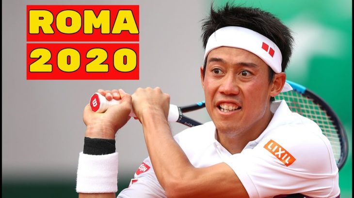 Lorenzo Musetti vs Kei Nishikori 錦織圭  .. Highlights .. Rome 2020