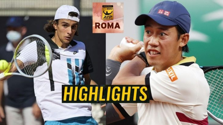 Lorenzo Musetti vs Kei Nishikori 錦織圭 Highlights ROME 2020
