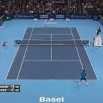 Nishikori (錦織) VS Federer (フェデラー) Basel 2011