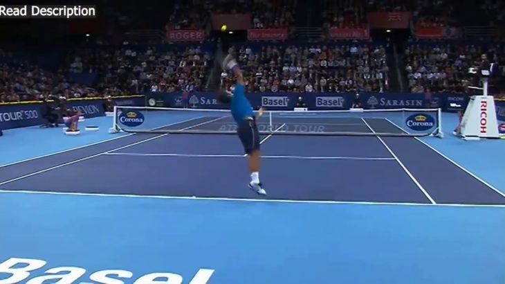 Nishikori (錦織) VS Federer (フェデラー) Basel