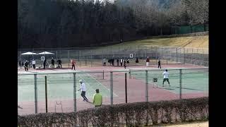 P66 Japan Hiroshima Tennis  広島県 テニス 2014新年 初打ち    「 BGM : MusMus 」  20140105 tennis hatuuchi