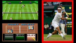 【スーパーテニス】 ロジャーフェデラーが好きで、RFという名前にしています。【ゲーム】【スーパーファミコン】【コメ付き】【紹介】