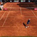 Rome 2020 Kei Nishikori and Borna Coric practice a game and tiebreake.