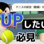 【テニス・TENNIS】社会人【ダブルス】他人の試合(動画)から学ぶ方法