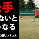 TENNIS JAPAN S市民大会45歳以上男子シングルス優勝経験者とのシングルス練習試合!2020年9月中旬1試合目/2試合