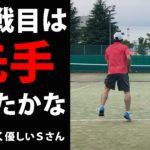 TENNIS JAPAN S市民大会45歳以上男子シングルス優勝経験者とのシングルス練習試合!2020年9月中旬2試合目/2試合
