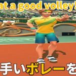 Tennis Clash テニスクラッシュ初心者の上手いボレーで攻略する!