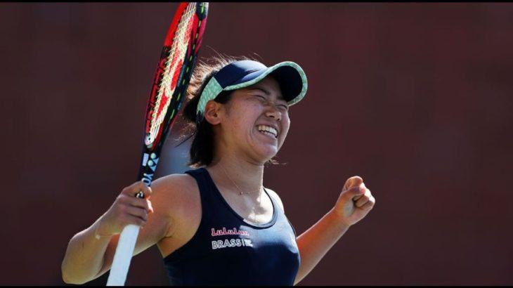 Tennis!!!日比野菜緒 VS ガルビネ・ムグルサ 生放送 2020年全米オープン テニス