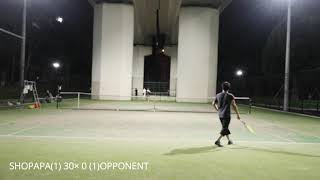 昭和島テニス Tennis game at Shouwajima Park