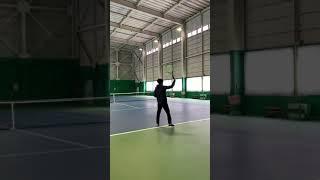 下手くそテニス🎾 #テニス #tennis #サーブ