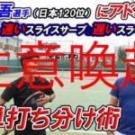 <テニスメディア 注意喚起>『tennis-peakチャンネル』「 【コツは1つだけ】佐藤翔吾選手(日本120位)へアドバイス  速くて入るスライスサーブと遅くて曲がるスライスサーブの簡単打ち分…」