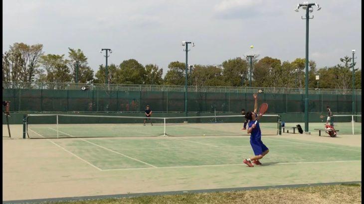 【テニス】フェデラーを尊敬してやまない高校生の片手バックハンド