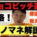 【モノマネ解説】ジョコビッチ選手の失格について