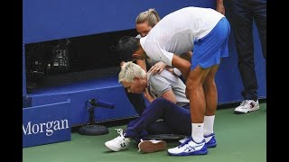 危険行為でジョコビッチが全米テニス失格処分「俺が失格? 俺のキャリア、グランドスラム、舞台のセンターだぞ」