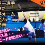 【サーブ】力が抜けてボールが速い確率が高いサーブの腕の使い方【フェデラー選手スロー動画】