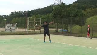 有本流ゆるテニス打法(テーマは左手:ジョコ・フェデラーもやっている左手で段取りして、左手を活躍させて打つシングルバックハンドスライスストロークはこれだ!)